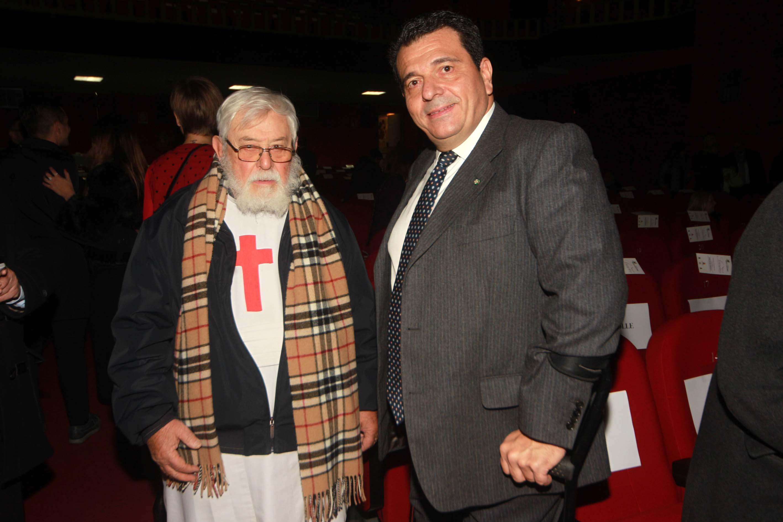 Fratel Vincenzo Luise con Tonino Boccadamo