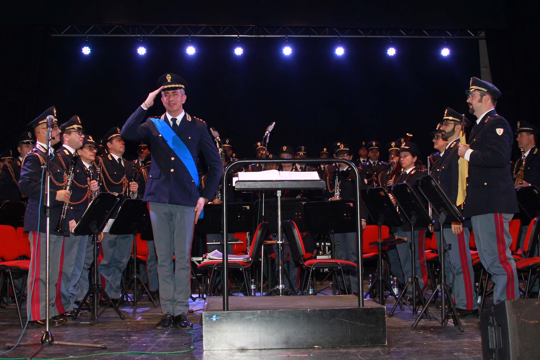 Il Maestro Maurizio Billi e la Banda Musicale della Polizia di Stato