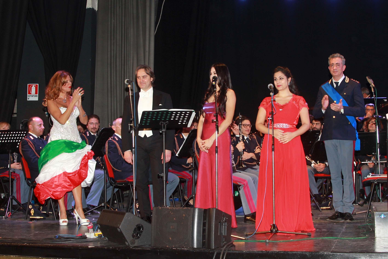 Paola Delli Colli, il tenore, Francesco Grollo e le soprano, Federica Balucani e Giulia De Blasis