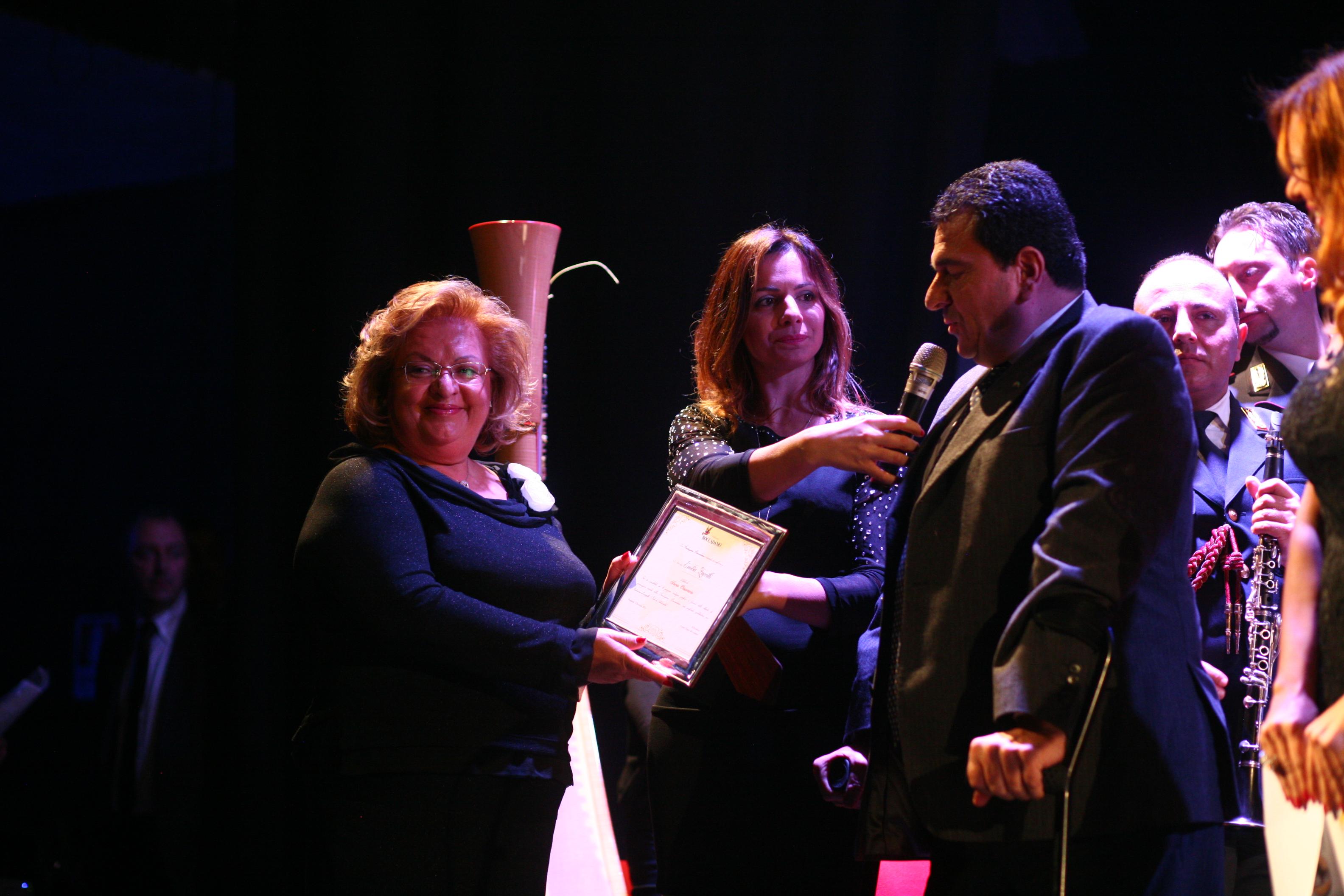 S.E. Emilia Zarrilli conferita Socio Onorario della Fondazione Boccadamo