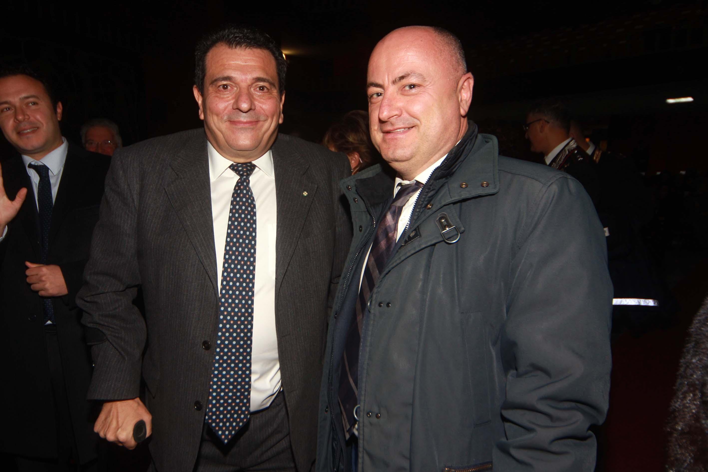 Tonino Boccadamo con Nicola Ottaviani